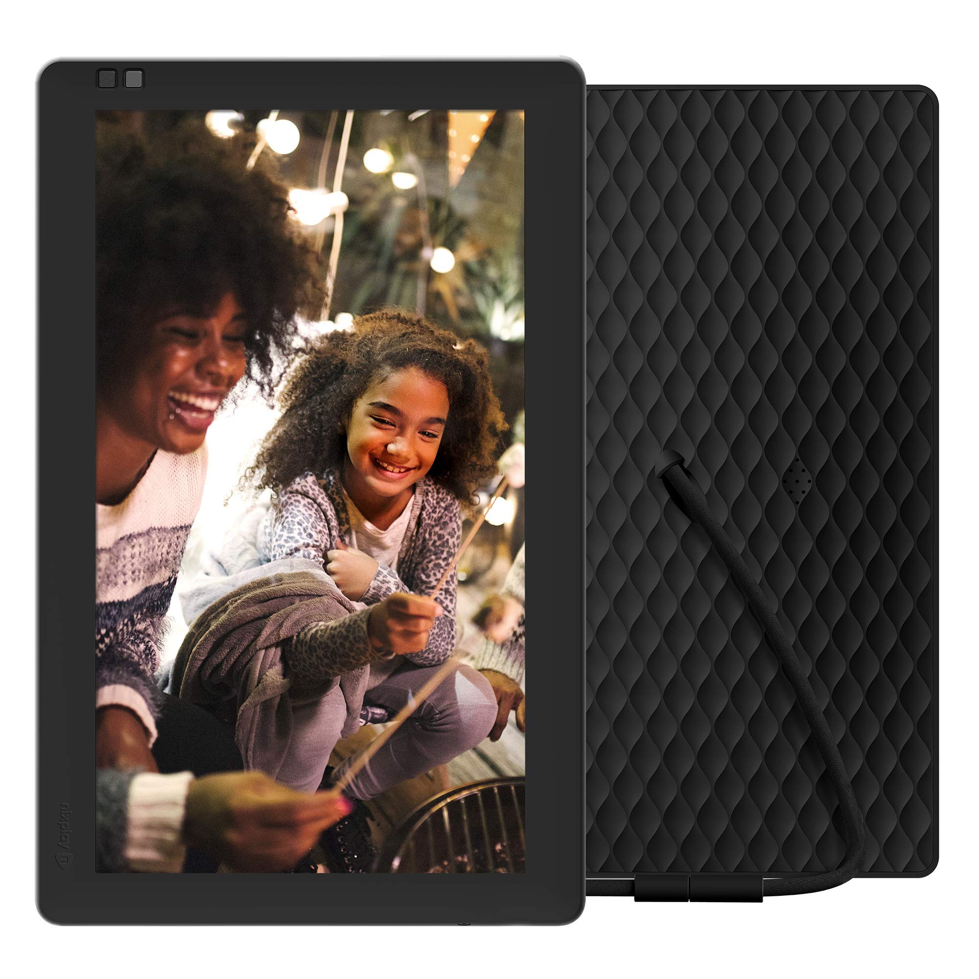 NIXPLAY Seed Digital Photo Frame WiFi 10 inch Widescreen W10B. Show Pictures on Your Frame