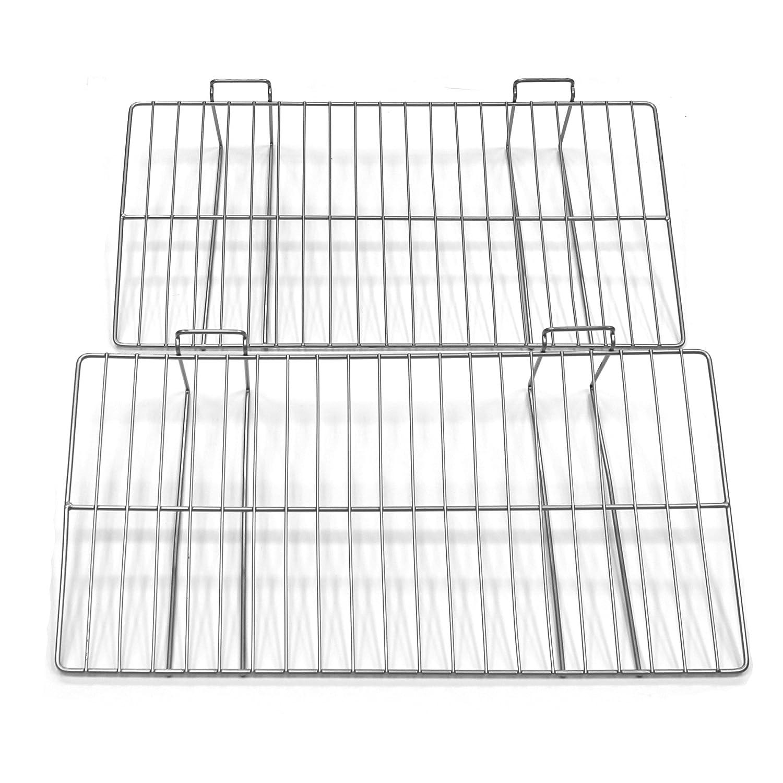 Proslat 13018 12-Inch x 24-Inch Ventilated Metal Shelf Designed for Proslat PVC Slatwall, 2-Pack