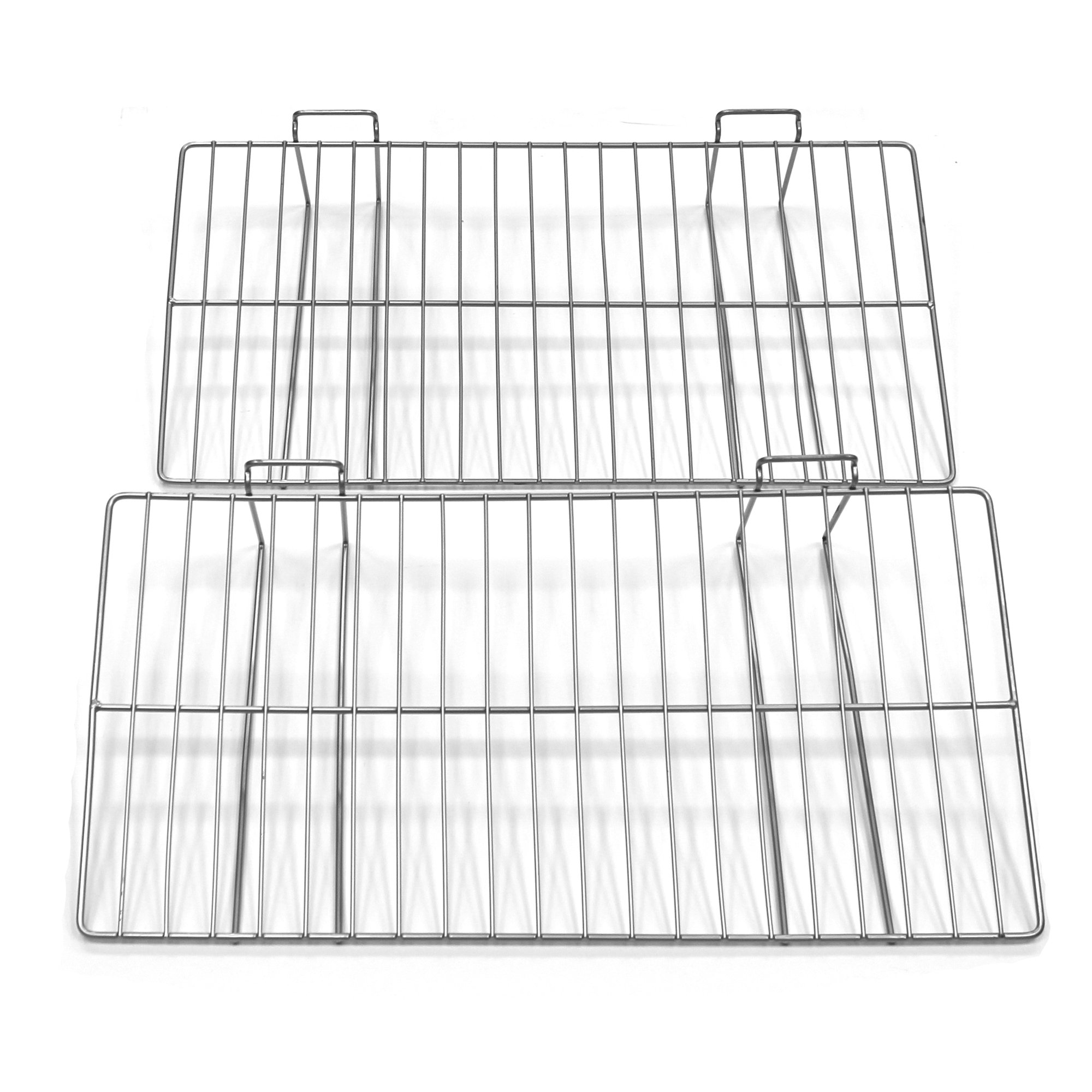 Proslat 13018 12-Inch x 24-Inch Ventilated Metal Shelf Designed for Proslat PVC Slatwall, 2-Pack by Proslat