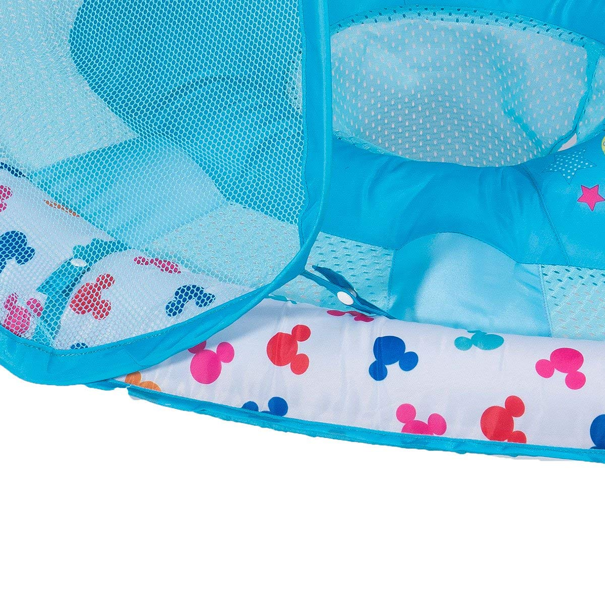 SwimWays Inflatable Infant Baby Swimming Pool Float w/Canopy, Mickey Mouse (2 Pack) by SwimWays (Image #5)