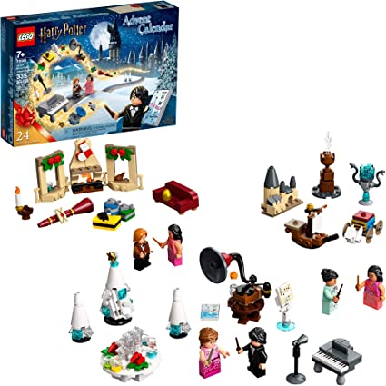 Lego Harry Potter Advent Calendar 75981 Collectible Toys From The Hogwarts Yule Ball Harry Potter And The Goblet Of Fire And More Great Christmas Or Birthday Calendar Gift New 2020 335