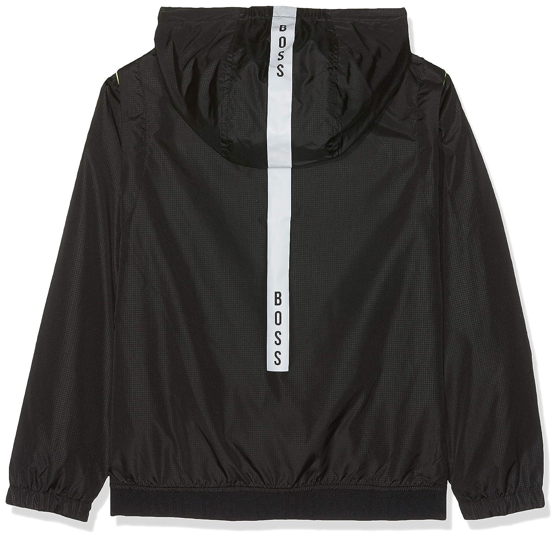 BOSS Boys Coupe-Vent a Capuche Raincoat