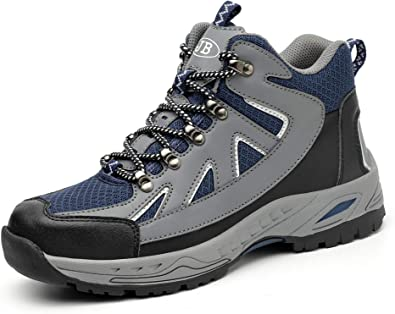 Safety Shoes Steel-Toe Leather