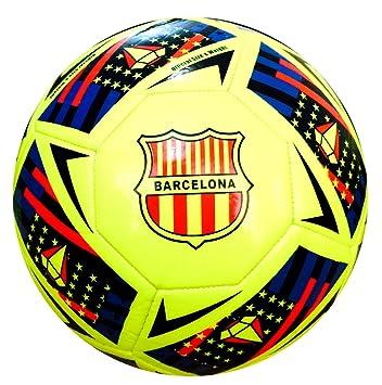 Spedster Balón de fútbol Barcelona 2018-2019 de alta calidad, tamaño 5,4,3, 5: Amazon.es: Deportes y aire libre