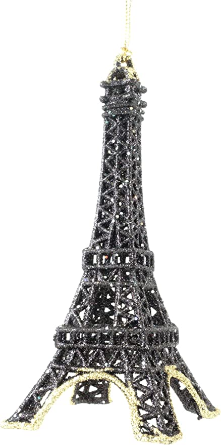 Party Explosions® Party Explosions French Eiffel Tower Hanging Ornaments Silver