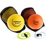 Hard Massage Ball Set for Mobility & Physical Therapy - Great for Neck, Back & Foot Massage