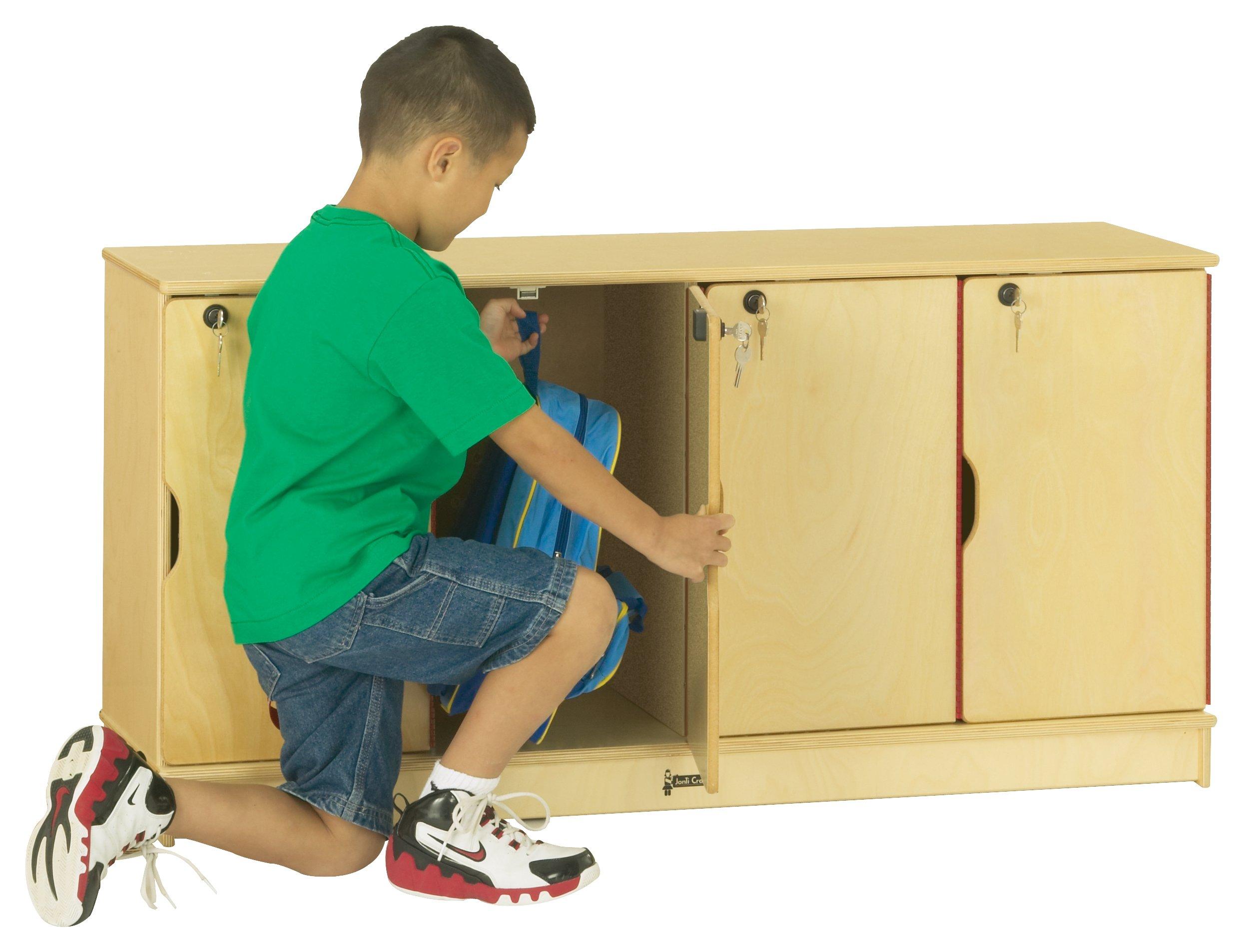 Jonti-Craft 4697TK Stacking Lockable Lockers, Triple Stack by Jonti-Craft (Image #2)