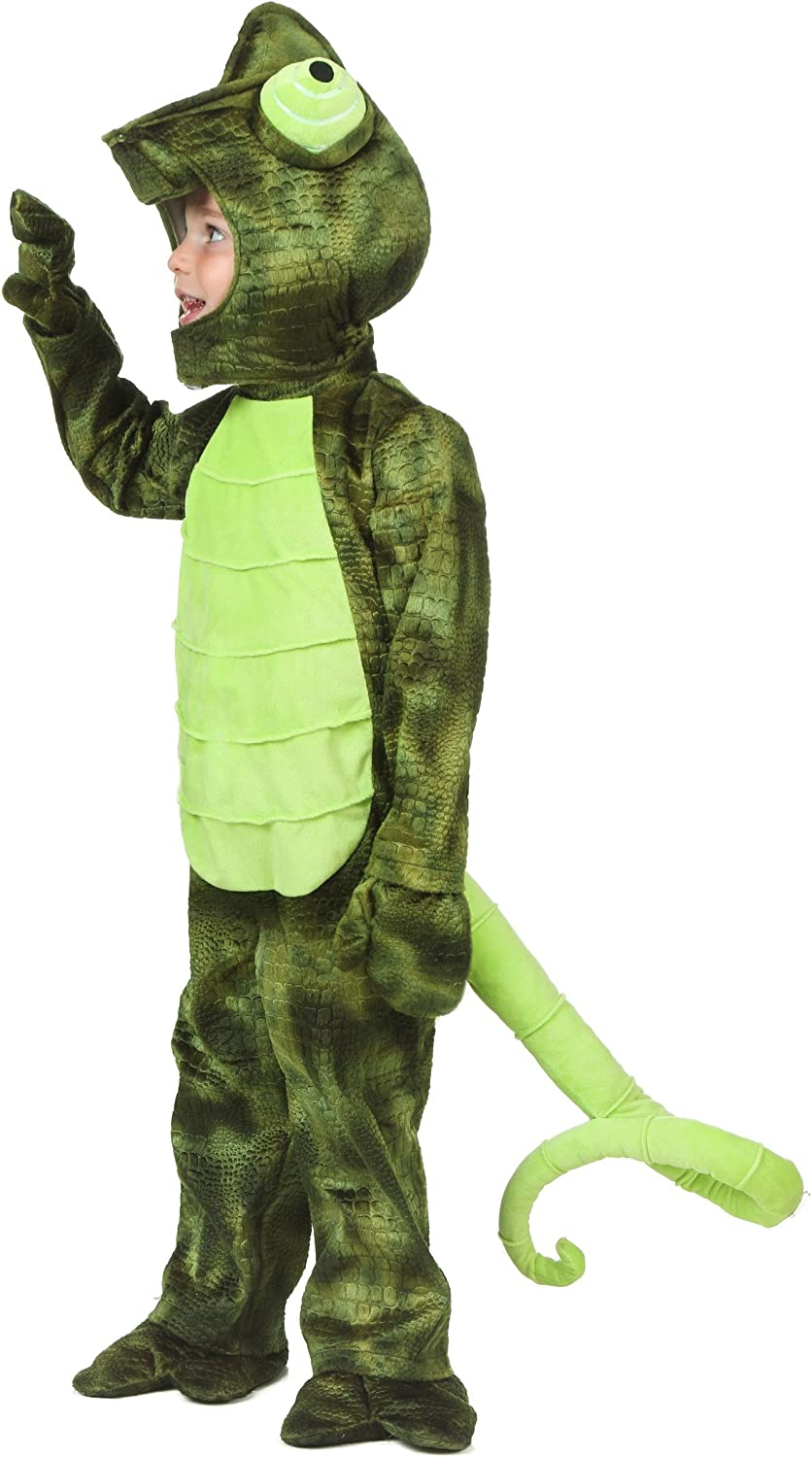 Amazon Com Toddler Chameleon Costume Clothing