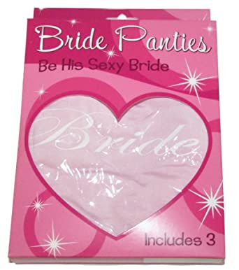 katie k active womens bride hipster lingerie 3 pack bridal shower bachelorette wedding gift
