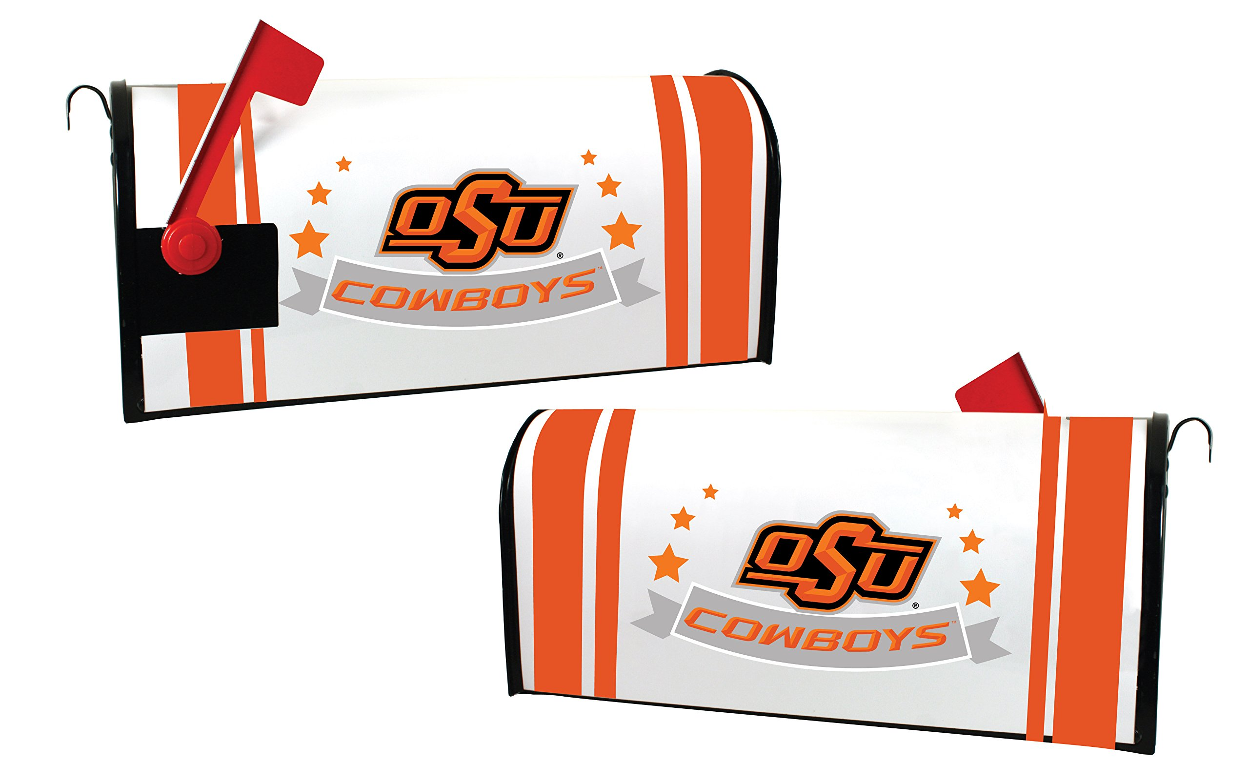 OKLAHOMA STATE COWBOYS MAILBOX COVER-OKLAHOMA STATE UNIVERSITY MAGNETIC MAIL BOX COVER-NEW FOR 2016!