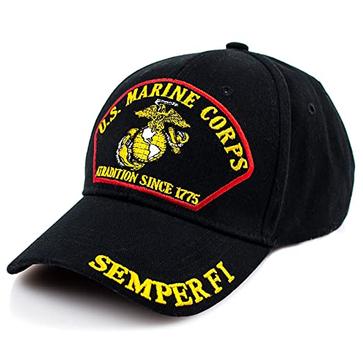 Exclusive Caps - US Marine Corps Semper Fi Hat Baseball Cap
