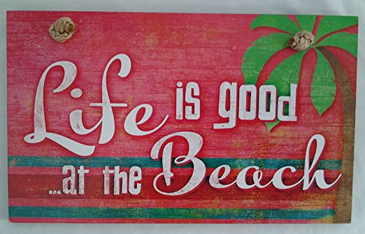 Highland Graphics La Vida es Buena en la Playa Cartel de ...