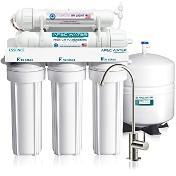APEC ROES-UV75 6-stage RO Under Sink Water Filter