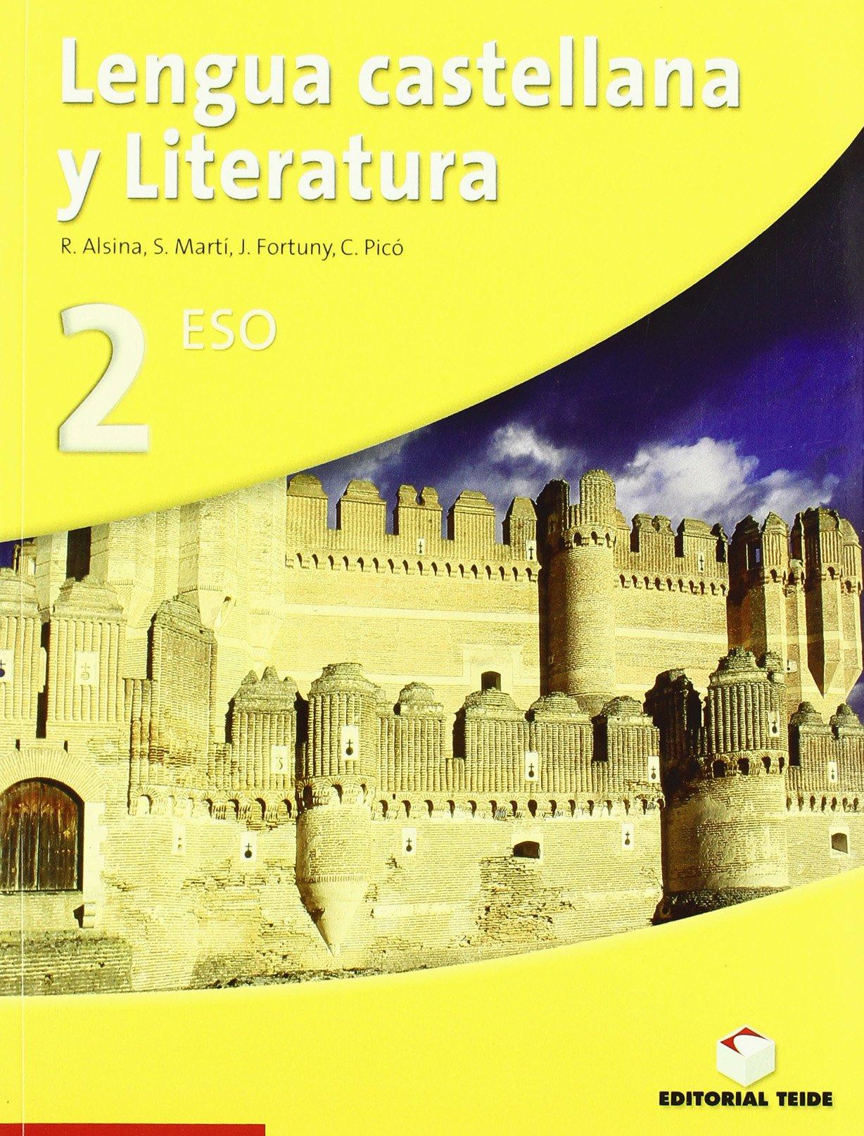 Lengua castellana y literatura, 2 ESO - 9788430786527: Amazon.es: Alsina Soriano, Rosa, Fortuny Giné, Joan Baptista, Picó Llorca, Carme, Martí Raüll, Salvador: Libros