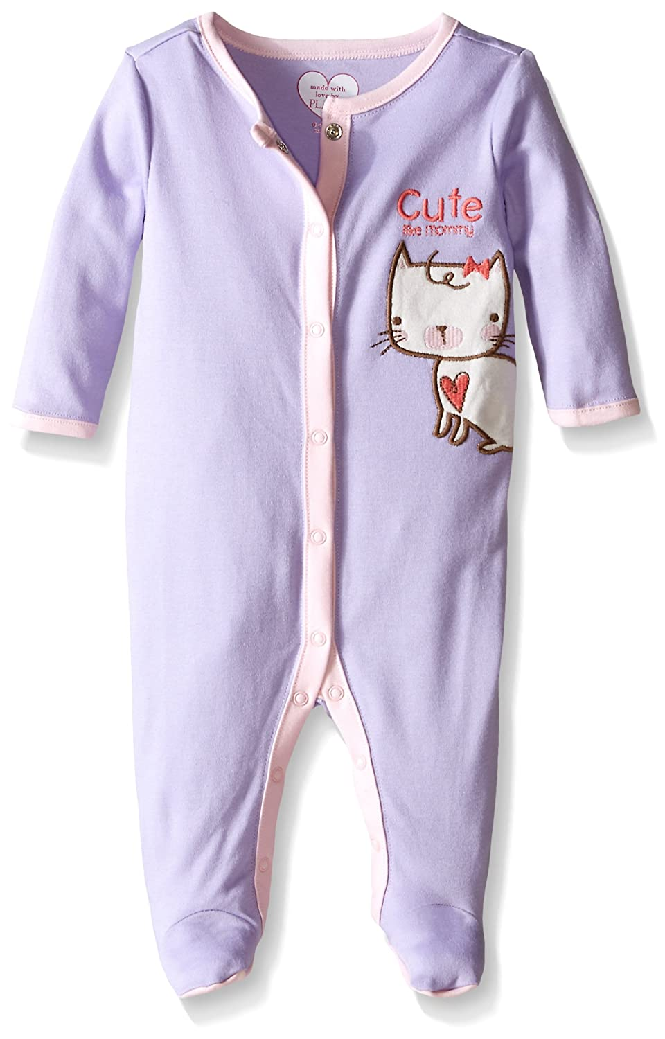 【2019正規激安】 The Children 's Place Children Baby Girls 6 ' Months Cat Sleep & Play 3 - 6 Months Purple Ribbon B013JL5ZRY, 雑貨マニアmarz:f66f4ab7 --- turtleskin-eu.access.secure-ssl-servers.info