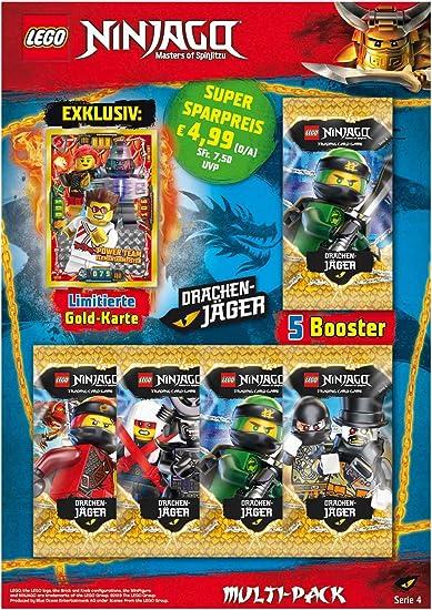 Amazon.com: Top Media 180323 Lego Ninjago Serie IV - Paquete ...