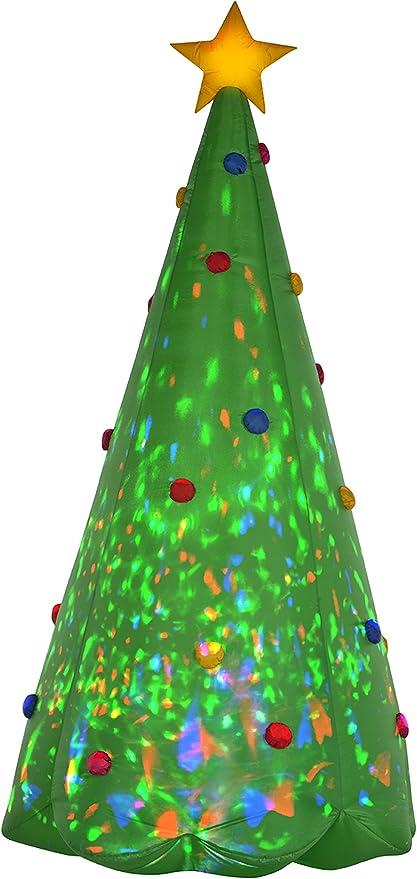 Amazon.com: Gemmy 89776 - Árbol de Navidad hinchable de ...