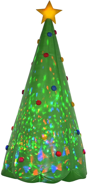 Amazon.com: Gemmy Christmas Tree Inflatable, 8-Feet, Green: Garden ...