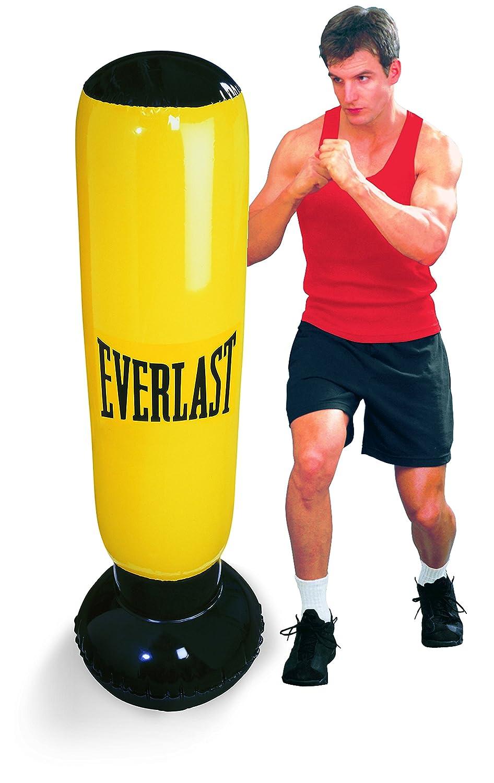 Everlast 14EV2628YE - Saco Boxeo Hinchable, Color Amarillo: Amazon ...