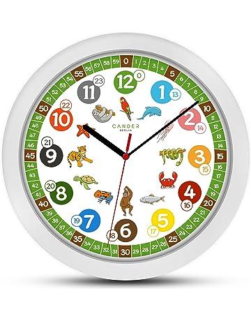 th/ème espace//astronaute//fus/ée Horloge murale enfants bois Mousehouse Gifts