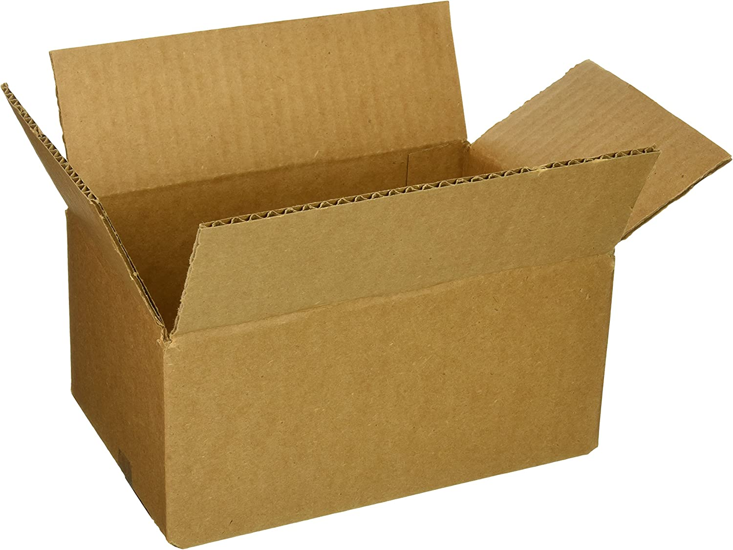 The Packaging Wholesalers 9 x 6 x 4 Inches Shipping Boxes, 25-Count (BS090604)