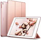 iPad Pro 9.7 Case, ESR® iPad Pro 9.7 Smart Case Cover [Synthetic Leather] and Translucent Frosted Back Magnetic Cover with Sleep / Wake Function [Ultra Slim] [Light Weight] for Apple iPad Pro 9.7 inch Case [Launched 2016] (Rose Gold)