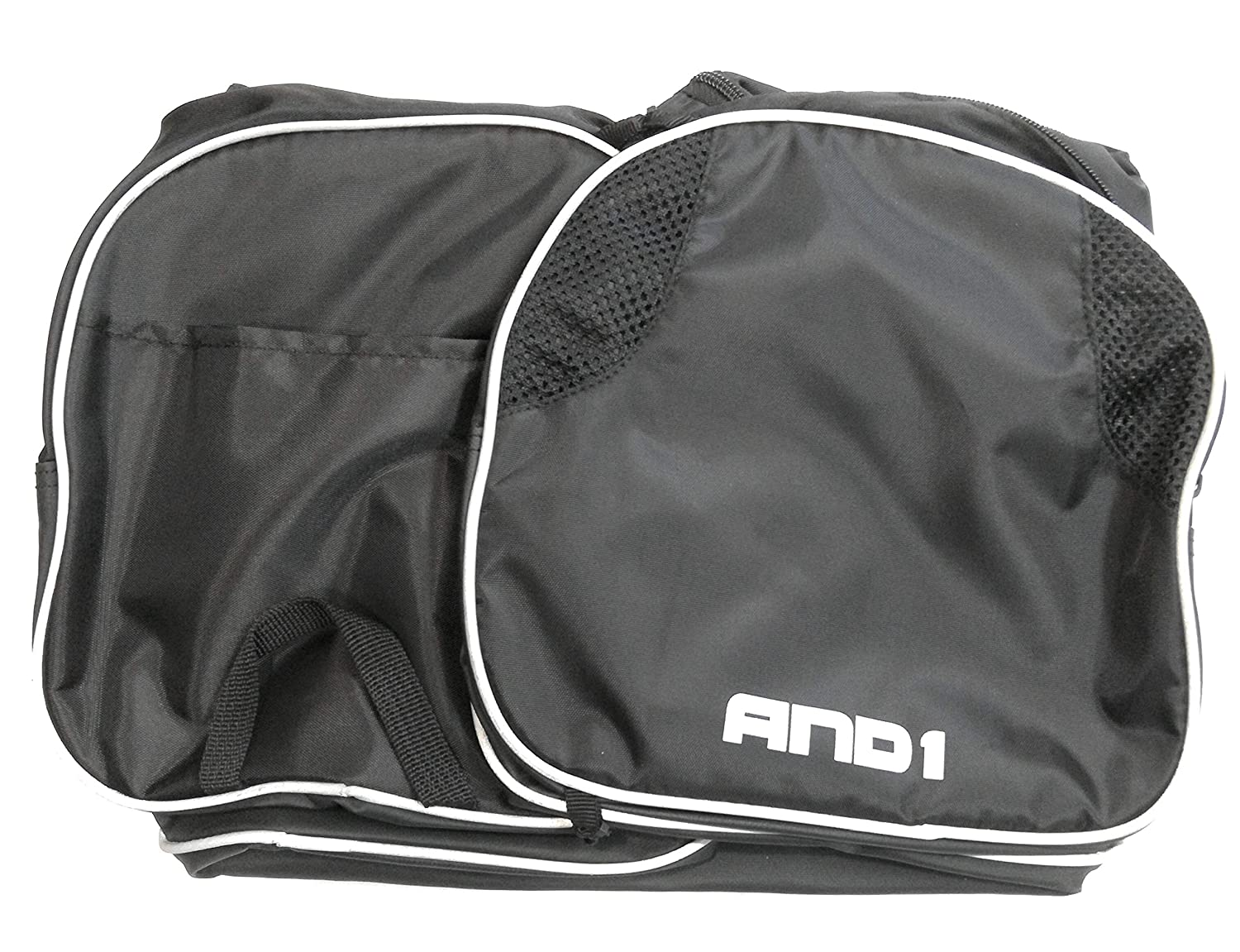 AND 1 Active Duffle Bag Black//Silver 20.25x10.25x11.25