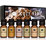 P&J Trading Fragrance Oil | Cozy Home Set of 6 - Scented Oil for Soap Making, Diffusers, Candle Making, Lotions…
