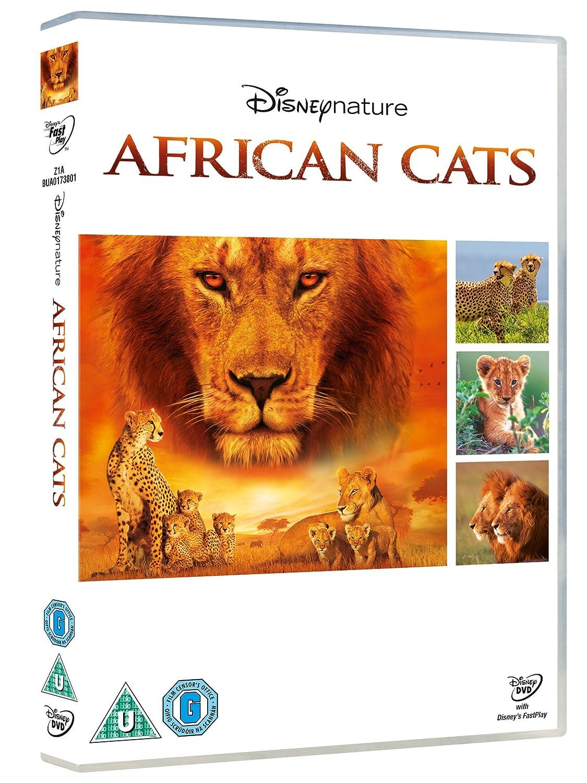 African Cats [DVD]