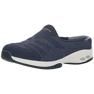 Skechers Women's Commute-Knitastic-Engineered Knit Open Back Mule | Shoes