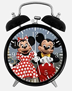 Disney Mickey and Minnie Mouse Alarm Desk Clock 3.75