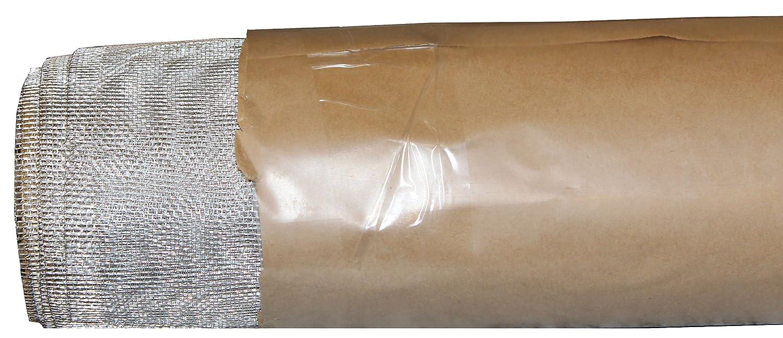 Aluminiumgewebe Alu-Gewebe Fliegengitter Gewebe Insektenschutz 80cm x 10m Preis pro m² = 6, 22 Euro zuschneidbar mit Haushaltsschere Germerott Bienentechnik