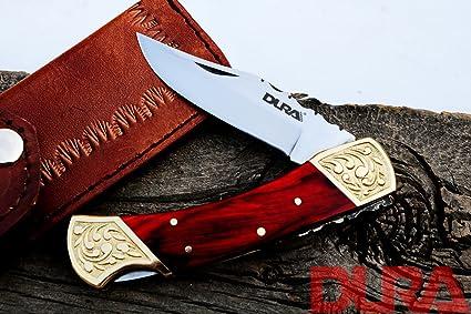 Amazon.com: DURA KNIVES Dk-51 - Cuchillo de caza de acero ...