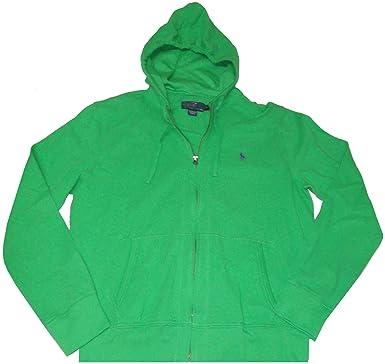 208e8f3c3 Polo Ralph Lauren Men s Full-Zip Cotton Mesh Hoodie