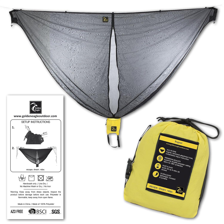 amazon com hammock bug mosquito net 102x51 in durable best