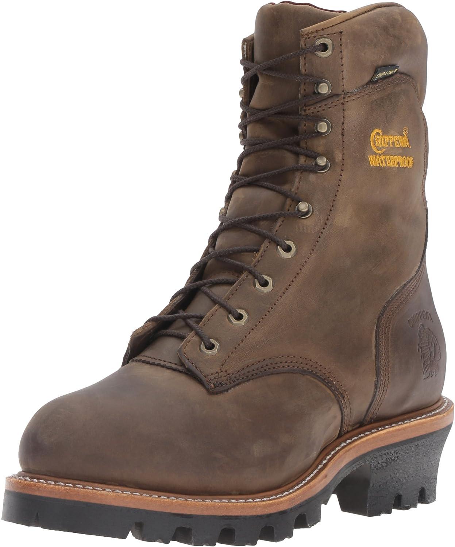 Logger Boots Steel Toe