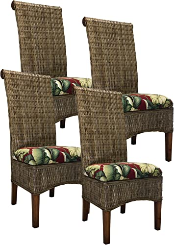 Kubu Rattan Dining Chair 4-Pack