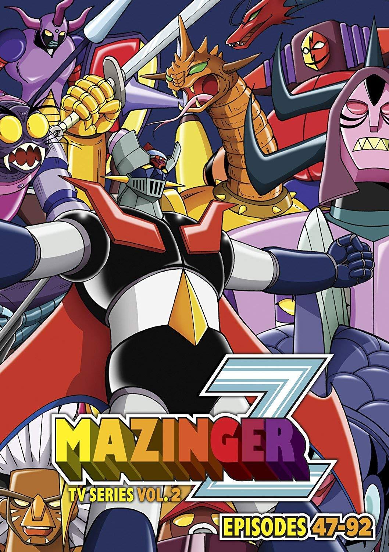 DVD : Mazinger Z TV Series Part 2 - Mazinger Z Tv Series Part 2 (6PC)