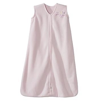 baby stores near me HALO SleepSack Micro-Fleece Wearable Blanket, Soft Pink, Small