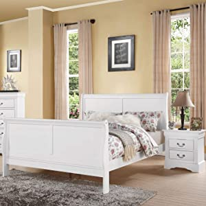 ACME Furniture Bed, Full, White