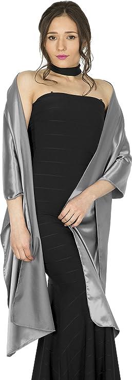 Chal mantón de cachemir para dama de honor.