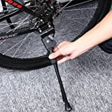 generic Durable Aluminium Alloy Bike Kickstand with Rubber Foot