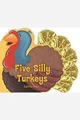 Five Silly Turkeys Board book