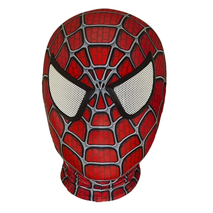 Amazon.com: Máscara de Halloween de superhéroe de araña ...