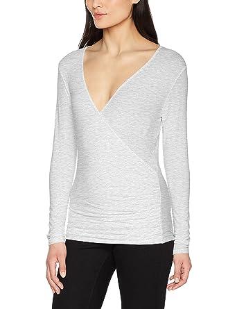 Leni, T-Shirt Femme White (White 0000) 44Blaumax