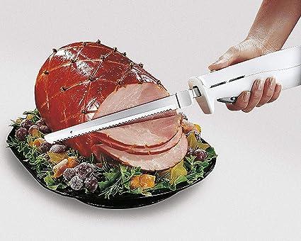 Amazon.com: Sharp - Cuchillo de corte eléctrico con cuchilla ...