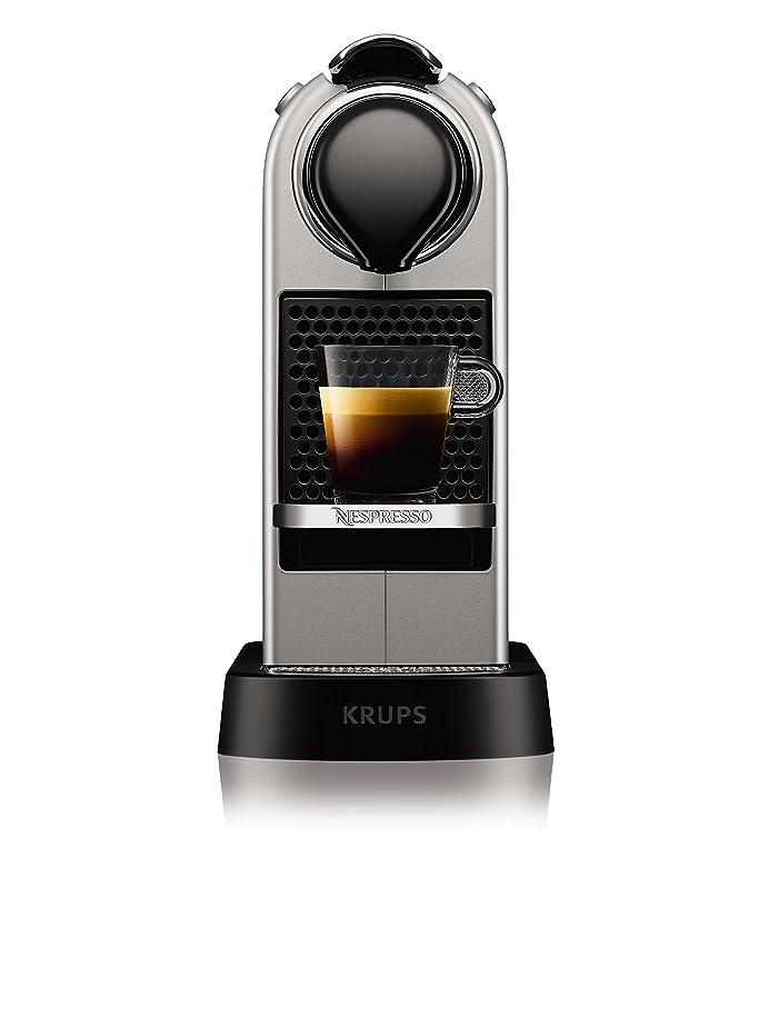 Krups YY2733FD Nespresso Citiz Espresso Automatique Argent: Amazon ...