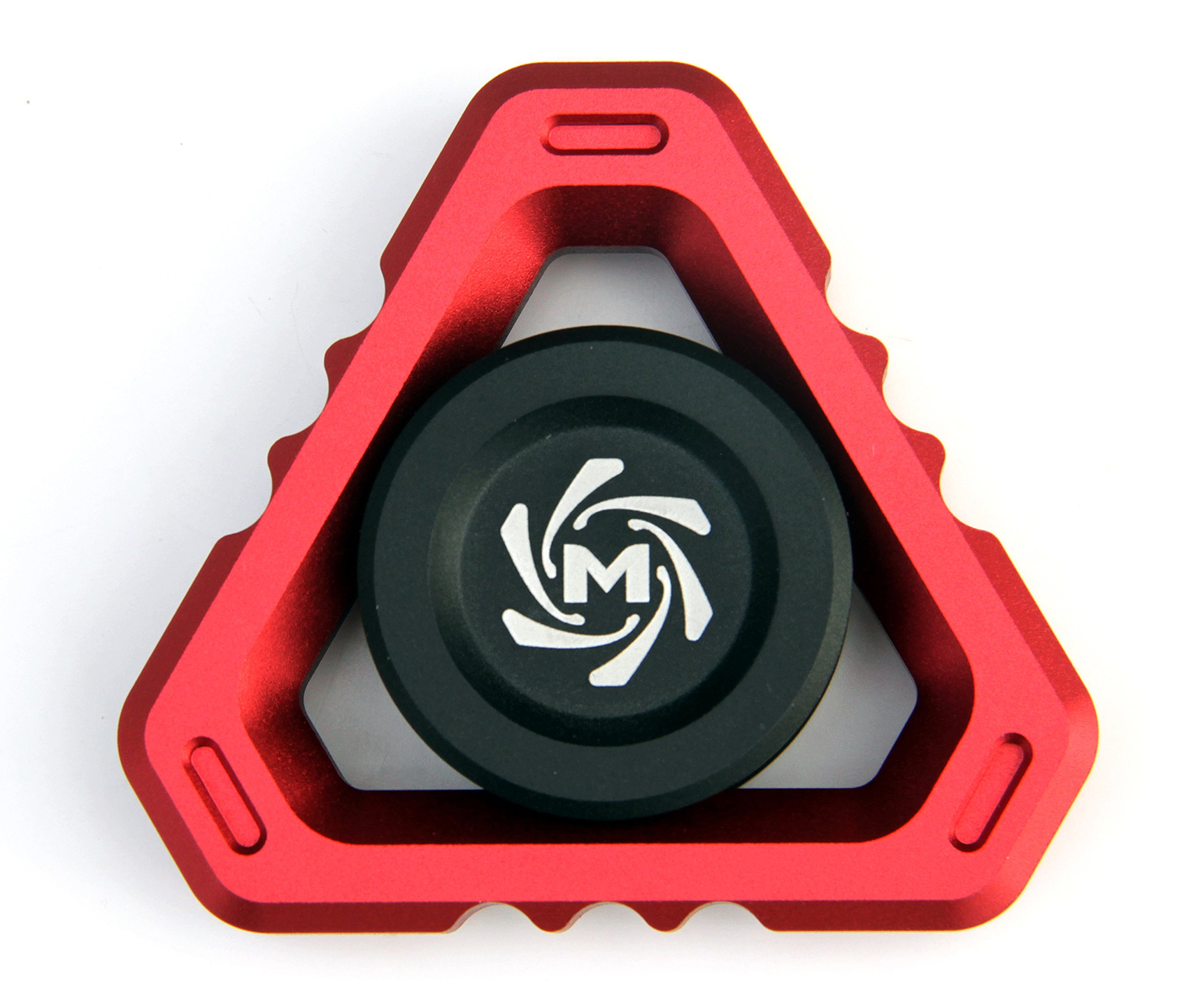 Mechforce - Deltacore Long Fidget Spinner, Aluminum (Red)