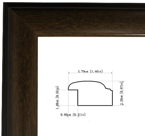 Amazon.com - 16x22- Inch Dark Brown/Mahogany picture/poster frame ...