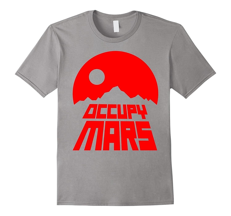 occupy mars t shirt original space tee goatstee. Black Bedroom Furniture Sets. Home Design Ideas